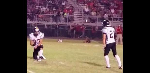 Cord Lewis hits his 2nd field goal, this one from 21 yards.