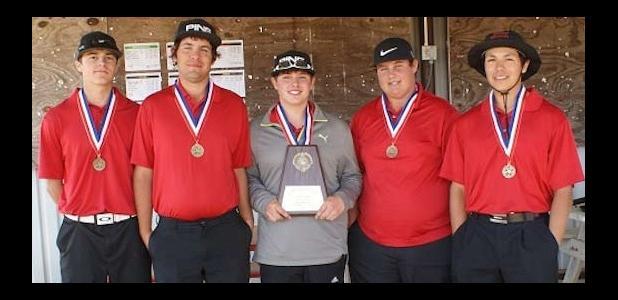 District Champion Boys' Golf Team!