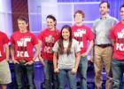 Casen Cavalier, Weston Brooks, Kaylin Brown, Rosa Ojeda, Seth Campbell, Mr. Brian Thomas, and Brant Bailey at the filming.