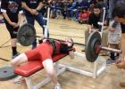 Michael Ramsey competes in the Sundown powerlifting meet