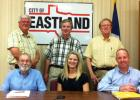 Archive photo of Eastland City Commission with former city manager Ron Holliday