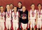7th Grade Lady Mavs finished 3rd this past weekend in Brownwood